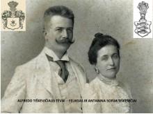 Feliksas ir Antanina Sofija Tiškevičiai.