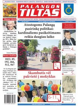Palangos tilto laikraštis, Data: 2013-09-02, Numeris: 66 (1207)