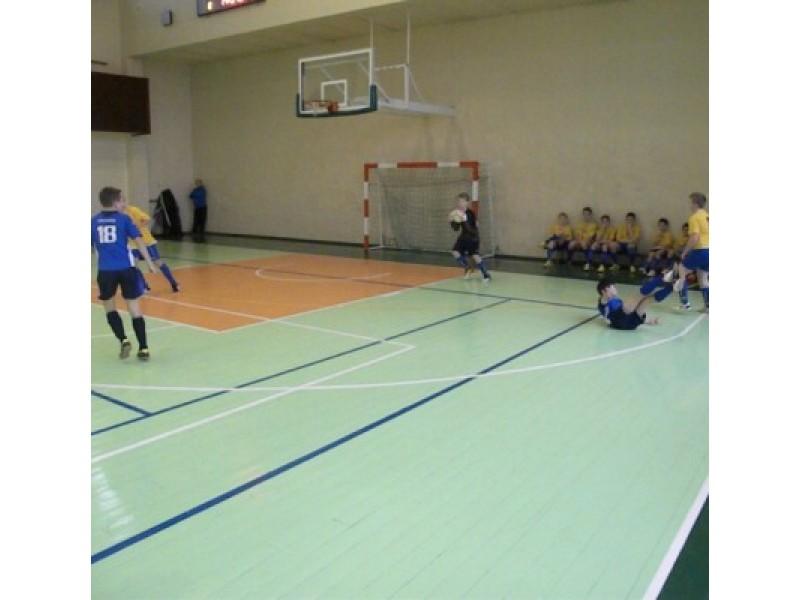 Jaunieji futbolininkai – mokinių A lygos mažojo čempionato ketvirtfinalyje