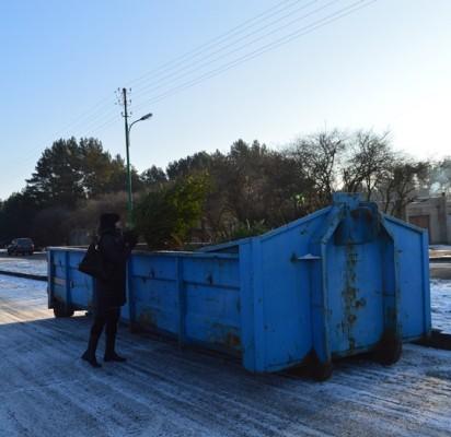 Atitarnavusios Kalėdų eglėms – specialus konteineris