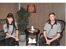 Grožio terapeutai – masažuotojai Vita ir Rolandas laukia jūsų.