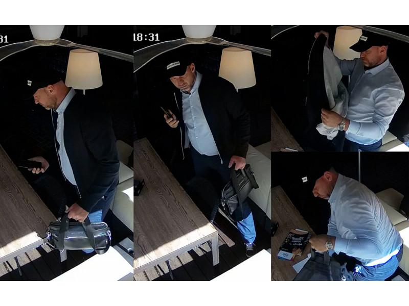 Policija prašo atpažinti šį vyrą
