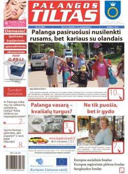Palangos tilto laikraštis, Data: 2011-06-02, Numeris: 43 (987)