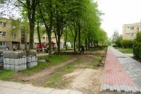 Palangoje tvarkomos miesto gatvės ir daugiabučių kiemai