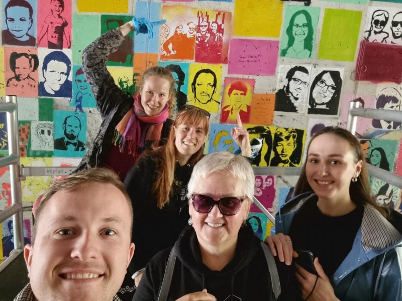 """Savaitgalį Palangos kultūros ir jaunimo centro komanda apsilankė Marijampolės kultūros centre ir tradicinėje miesto šventėje """"Cukrinis festivalis"""