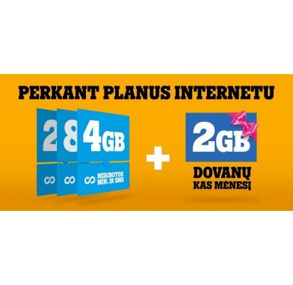 """""""Tele2"""" pasiūlymas:perkantiems planus internetu – dovanos"""