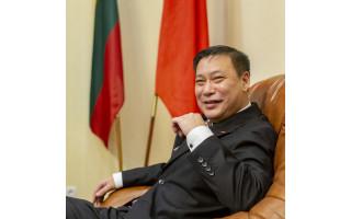 """Kinijos ambasadorius Lietuvoje: """"Kinija yra jūsų draugas ir partneris, o ne priešas ar grėsmė"""""""