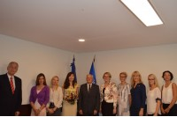 Palangoje lankėsi Gruzijos nepaprastoji bei įgaliotoji ambasadorė Lietuvoje Khatuna Salukvadze