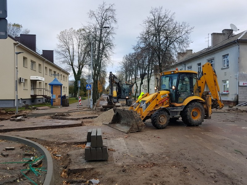 Po vasaros nutilusi Vytauto gatvė iki Naujųjų pasikeis neatpažįstamai