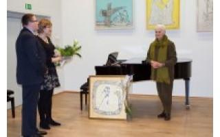 Jubiliejų švenčiančiai mokytojai K. Strikienei – miesto vadovų sveikinimai