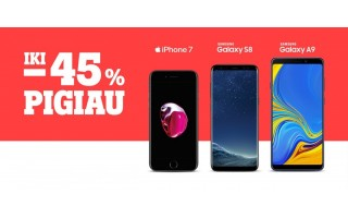 """""""Tele2"""" nuolaidos telefonams: sutaupykite net iki 45 proc."""