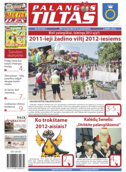 Palangos tilto laikraštis, Data: 2011-12-30, Numeris: 99 (1043)