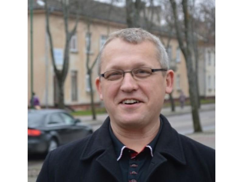 Buvęs PKU faktinis vadovas Evaldas Petrauskas, o dabar Kredito unijų narių gynimo asociacijos valdybos pirmininkas.