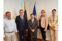 Palangoje lankėsi Kinijos respublikos ambasadorius Lietuvoje