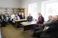 Šventojiškiai su Savivaldybės administracijos vadovais aptarė gyvenvietės aktualijas