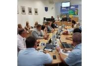 Taryboje posėdyje nuspręsta panaikinti Statybų skyrių