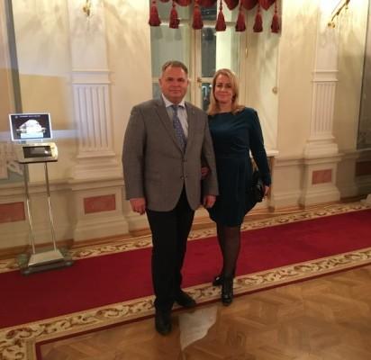 Tarybos narys Mindaugas Skritulskas su žmona Ramune vyko atostogų į Rusijos sostinę Maskvą.