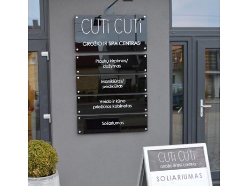 """""""Cuti Cuti"""" – modernus interjeras, kvalifikuoti specialistai ir daugiau dėmesio klientams"""