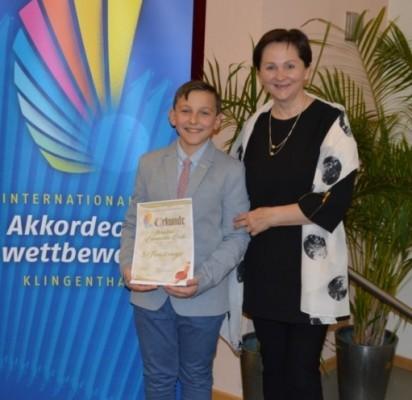 Tarptautinis akordeonistų konkursas Klingentalyje