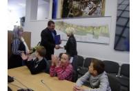 Šalies moksleivių konkurso vicečempionams – miesto vadovų dėmesys