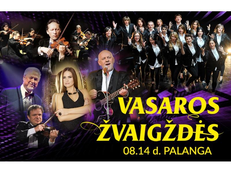 Šventinis koncertas VASAROS ŽVAIGŽDĖS