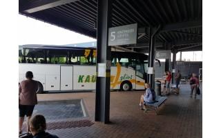 Palangos užimtumo barometras – jos autobusų stotis