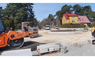 Netrukus bus sutvarkyta S. Dariaus ir S. Girėno gatvė (FOTOREPORTAŽAS)