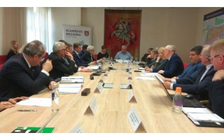 Steigiama Klaipėdos regiono plėtros taryba - jos kolegijoje Palanga turės du atstovus