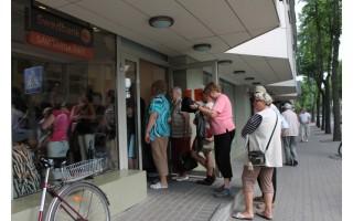 """Nerimas dėl """"Swedbank""""  buvo pasiekęs ir Palangą"""