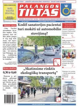 Palangos tilto laikraštis, Data: 2016-06-13, Numeris: 44(1478)