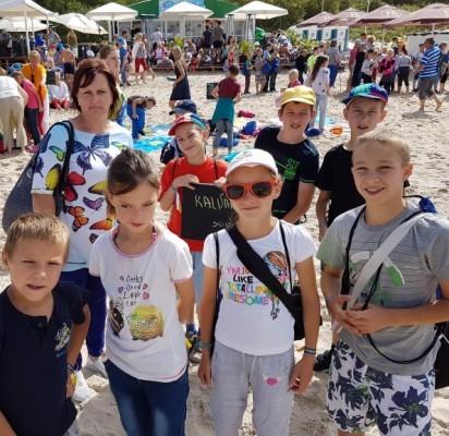 Šimtams vaikų, Palangoje pasisveikinusiems su jūra, įspūdžiai išliks ilgam