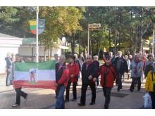 Iš Bergeno miesto Riugeno saloje (Vokietija) atvyko net 29 Palangos bičiulių delegacija.
