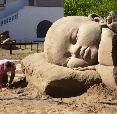 Palangoje – pirmasis tarptautinis smėlio skulptūrų festivalis