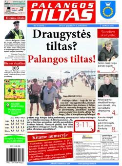 Palangos tilto laikraštis, Data: 2012-05-14, Numeris: 36 (1079)