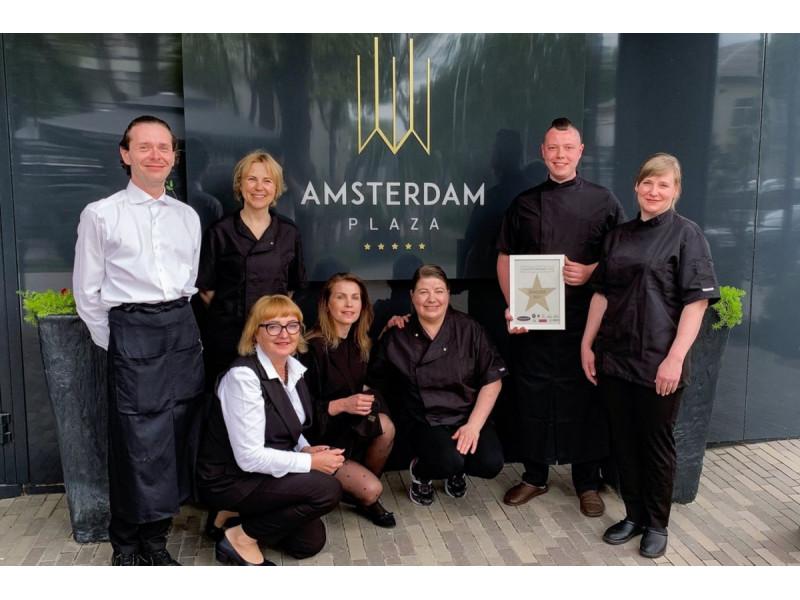 "Palangos restorano ""Amsterdam Plaza"" komanda"