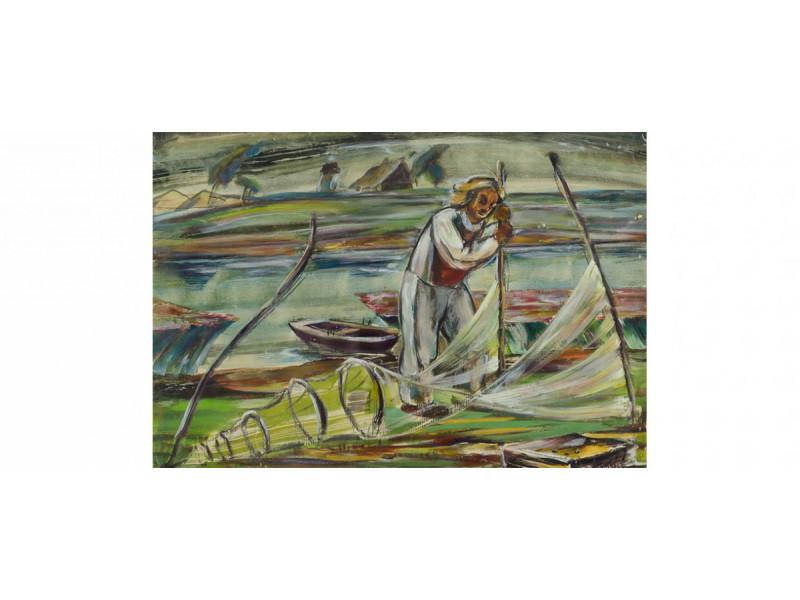 Adomas Galdikas-Žvejas (1936)