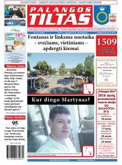 Palangos tilto laikraštis, Data: 2015-08-21, Numeris: 62 (1398)
