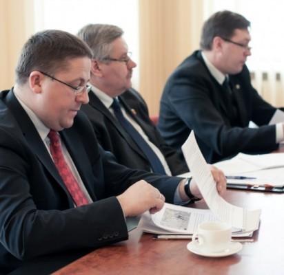 Klaipėdos regiono vadovai išklausė Lietuvos marketingo asociacijos atstovų pasiūlymų dėl regiono plėtros.