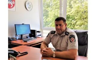 """Palangos policijos viršininkas Algirdas Budginas: """"Mūsų 45 darbuotojų komandoje – 17 palangiškiai"""""""