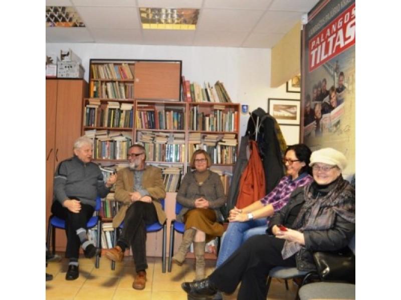Skaitytojai Palangos miesto savivaldybės viešajai bibliotekai linkėjo ir toliau būti tikru kultūros židiniu.