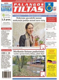 Palangos tilto laikraštis, Data: 2017-10-13, Numeris: 74 (1605)