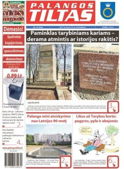Palangos tilto laikraštis, Data: 2011-03-29, Numeris: 24 (968)