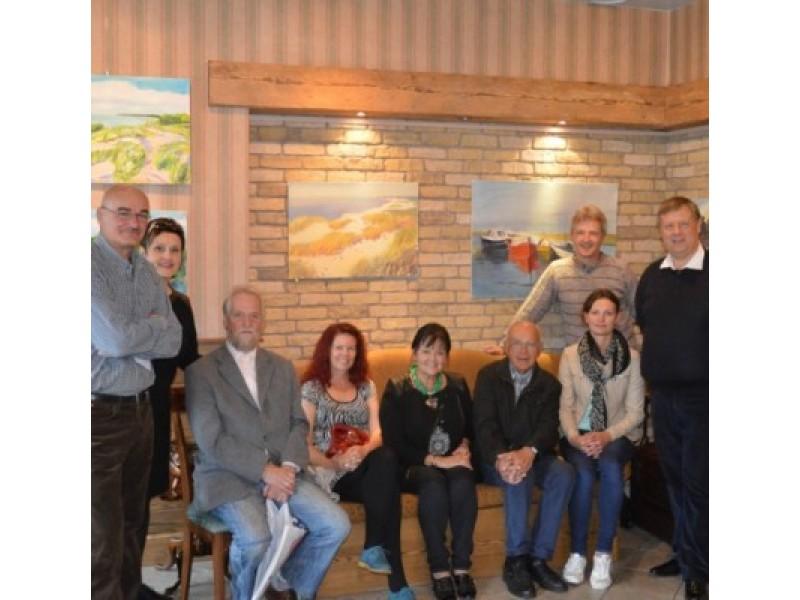 Latviai dailininkai pamėgo kurti Palangoje