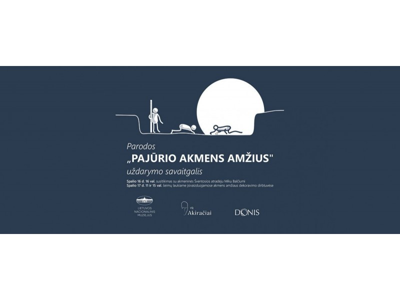 """Jono Šliūpo muziejuje – parodos """"Pajūrio akmens amžius"""" uždarymo savaitgalis"""
