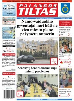 Palangos tilto laikraštis, Data: 2012-11-15, Numeris: 87 (1130)