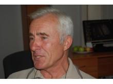 Sveikos gyvensenos puoselėtojas, Palangos Sveikatos mokyklos įkūrėjas Dainius Kepenis.