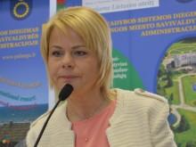 kovė.  VšĮ Palangos asmens sveikatos  priežiūros centro direktorė Jūra- tė Mikutienė