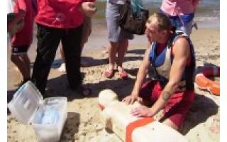 Palangos jaunimą mokė saugiai elgtis vandenyje