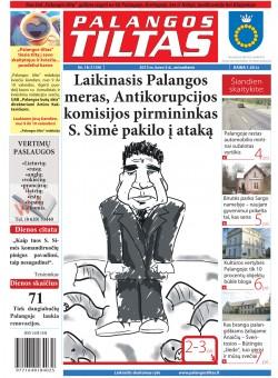 Palangos tilto laikraštis, Data: 2013-03-05, Numeris: 18 (1159)