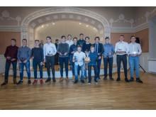 JAUNUČIŲ KOMANDA – vaikinų, gim. 2001 m., futbolo komanda – Lietuvos futbolo U-16 II lygos čempionato nugalėtoja. Treneris Gvidas Juška.